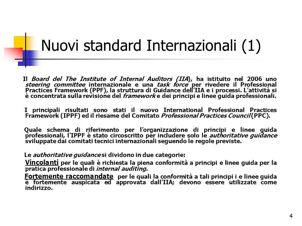 Nuovi standard Internazionali (1)