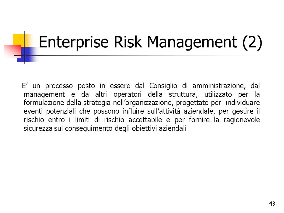 Enterprise Risk Management (2)