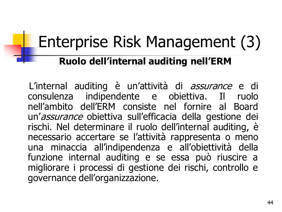 Enterprise Risk Management (3)