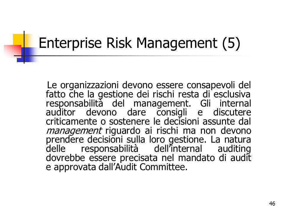 Enterprise Risk Management (5)