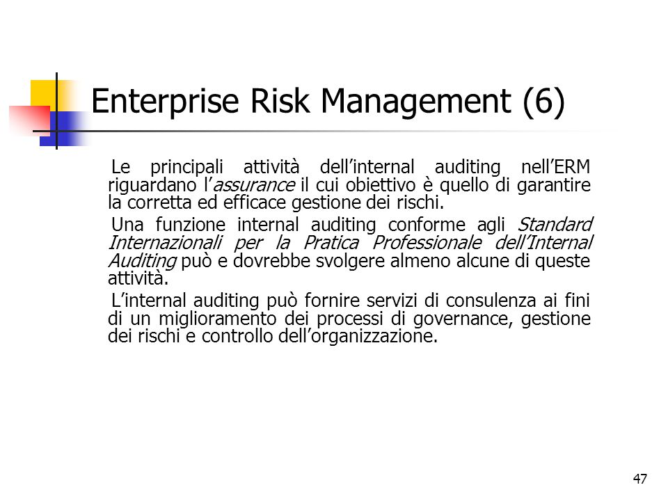 Enterprise Risk Management (6)