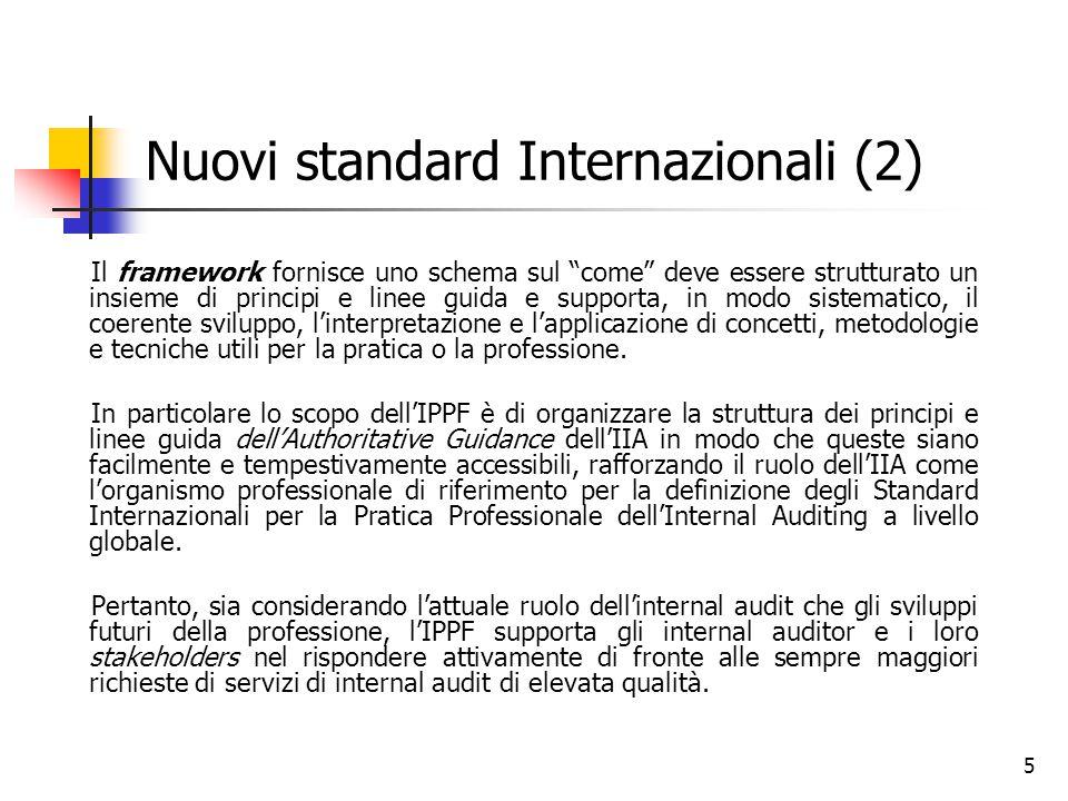 Nuovi standard Internazionali (2)