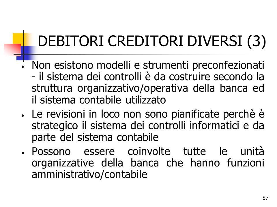 DEBITORI CREDITORI DIVERSI (3)