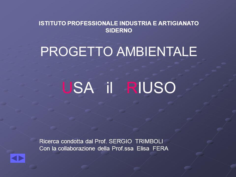 ISTITUTO PROFESSIONALE INDUSTRIA E ARTIGIANATO SIDERNO PROGETTO AMBIENTALE