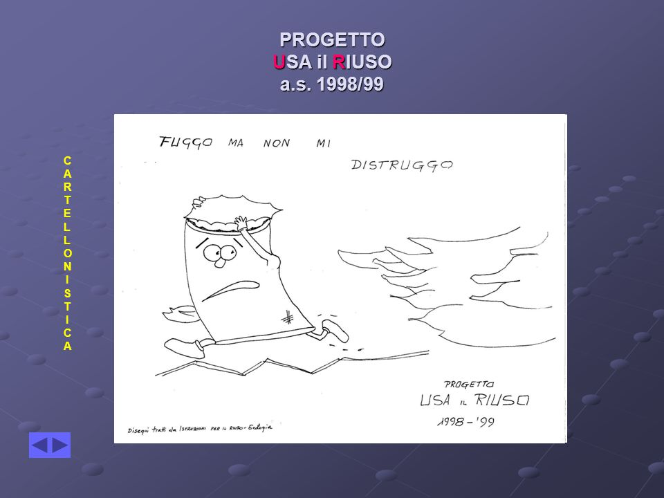PROGETTO USA il RIUSO a.s. 1998/99