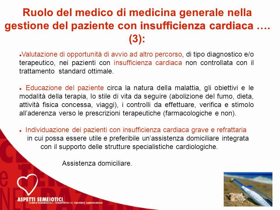 Ruolo del medico di medicina generale nella gestione del paziente con insufficienza cardiaca …. (3):