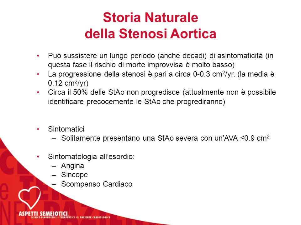 Storia Naturale della Stenosi Aortica