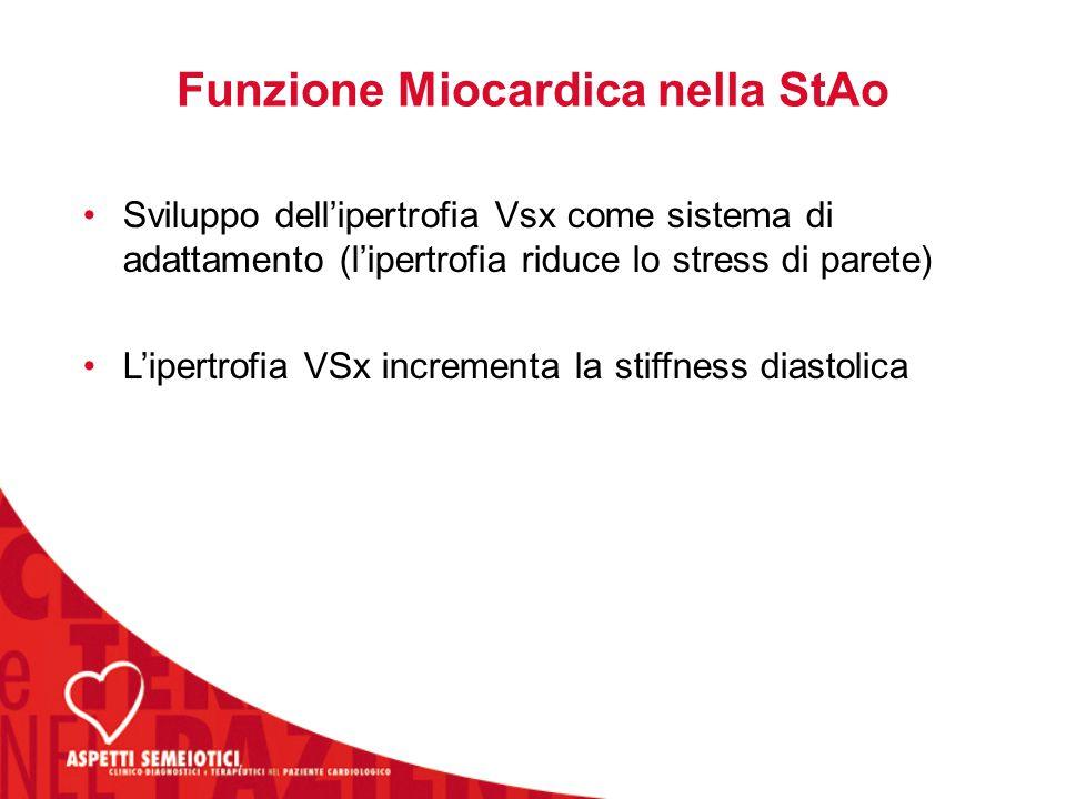 Funzione Miocardica nella StAo