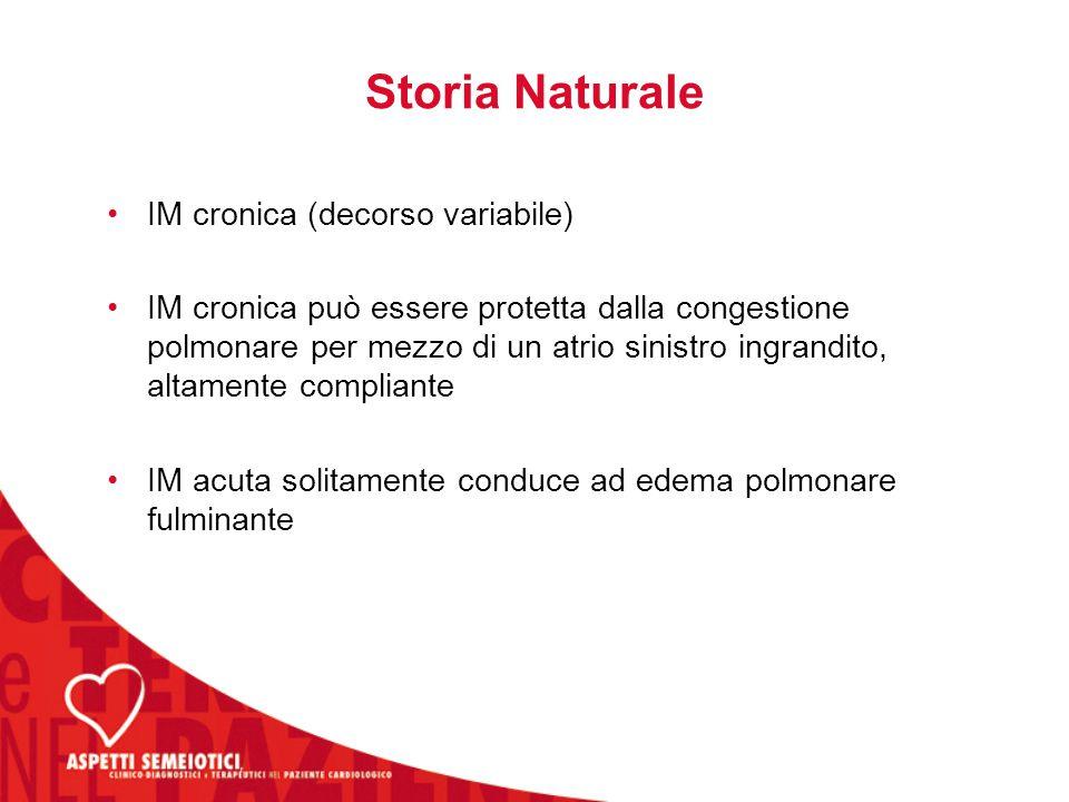 Storia Naturale IM cronica (decorso variabile)