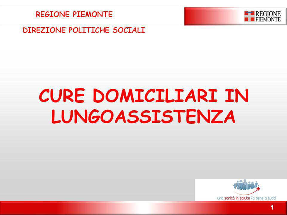 CURE DOMICILIARI IN LUNGOASSISTENZA