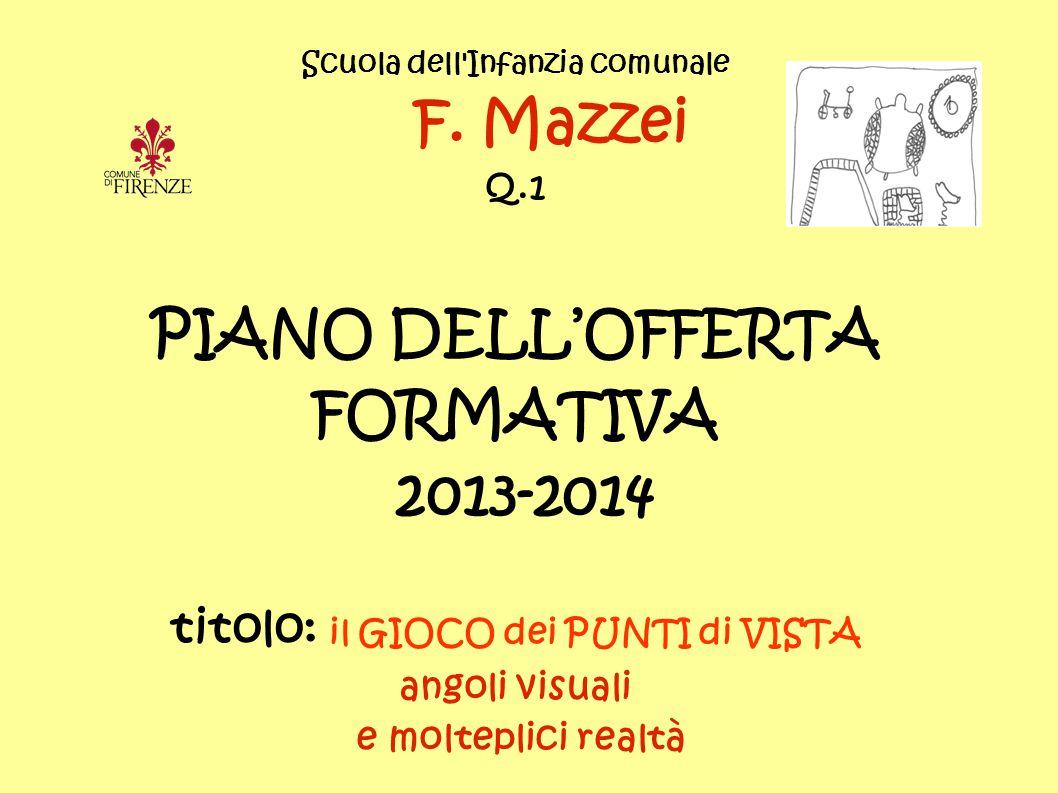 F. Mazzei PIANO DELL'OFFERTA FORMATIVA 2013-2014