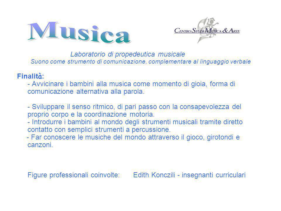 Laboratorio di propedeutica musicale