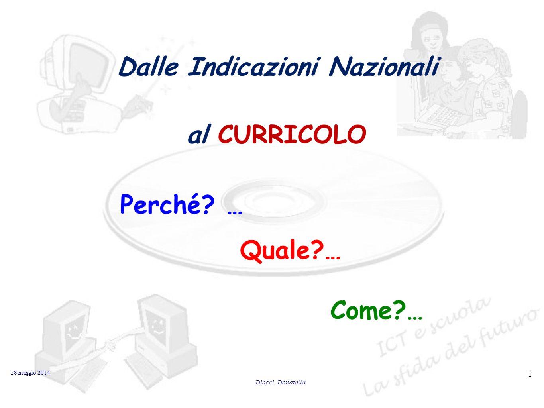 28 maggio 2014 1 Diacci Donatella