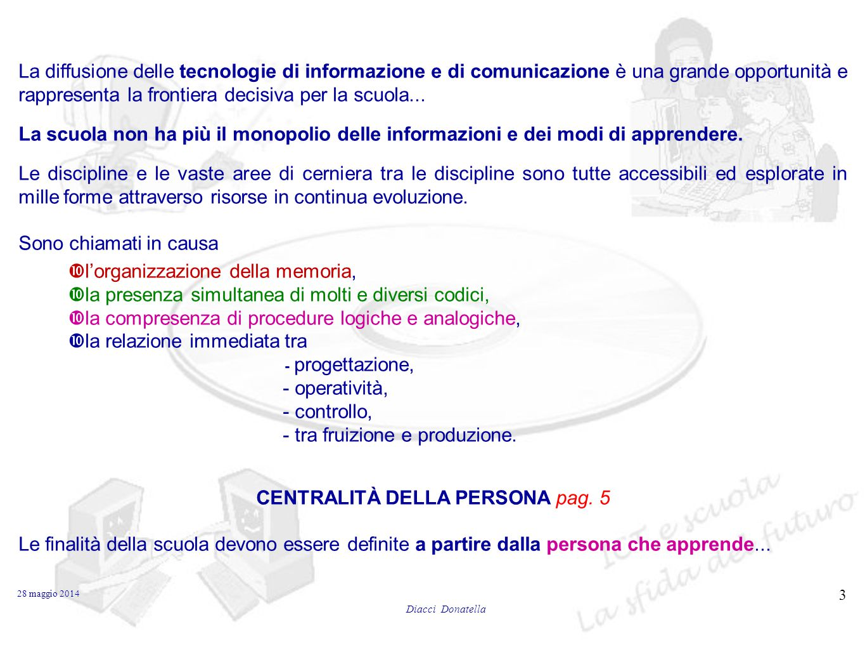 CENTRALITÀ DELLA PERSONA pag. 5