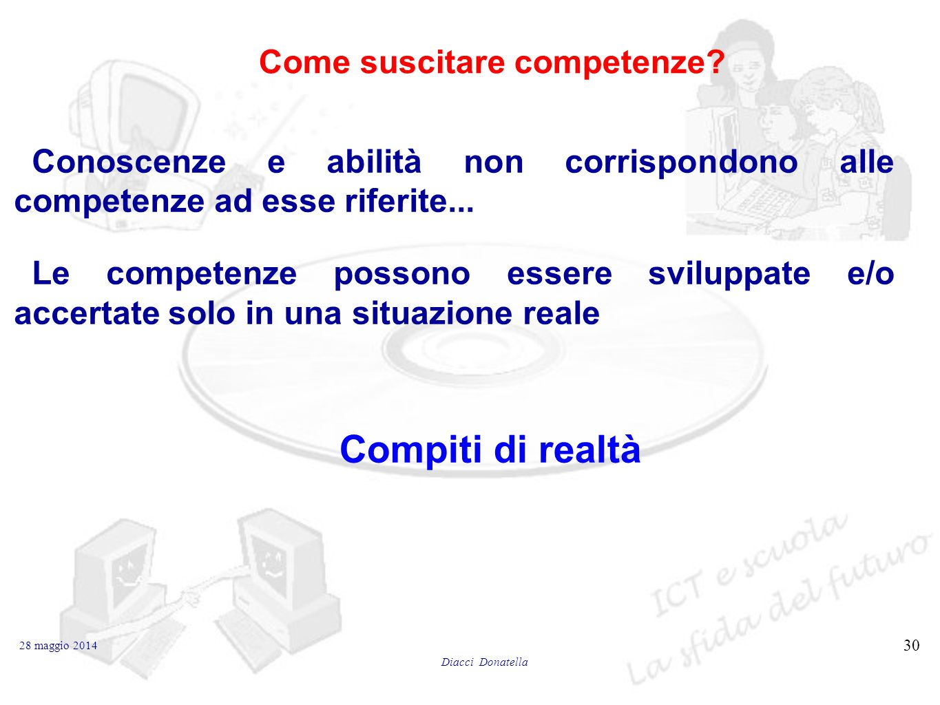 Come suscitare competenze