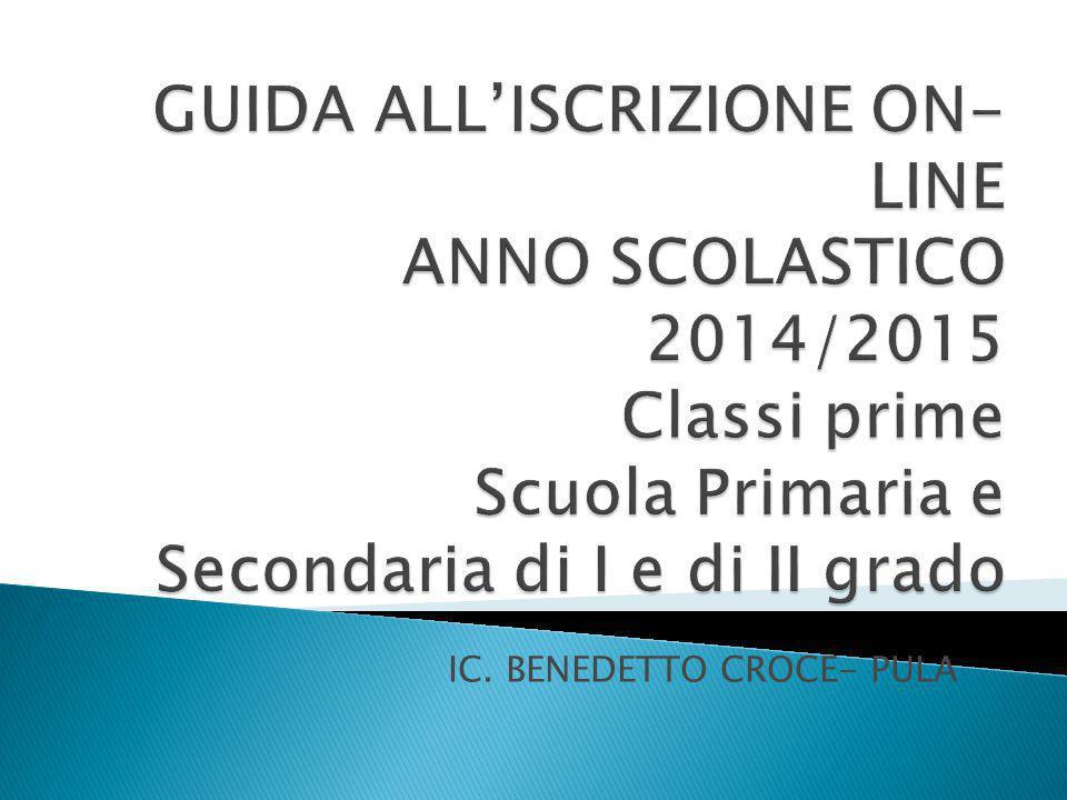 IC. BENEDETTO CROCE- PULA