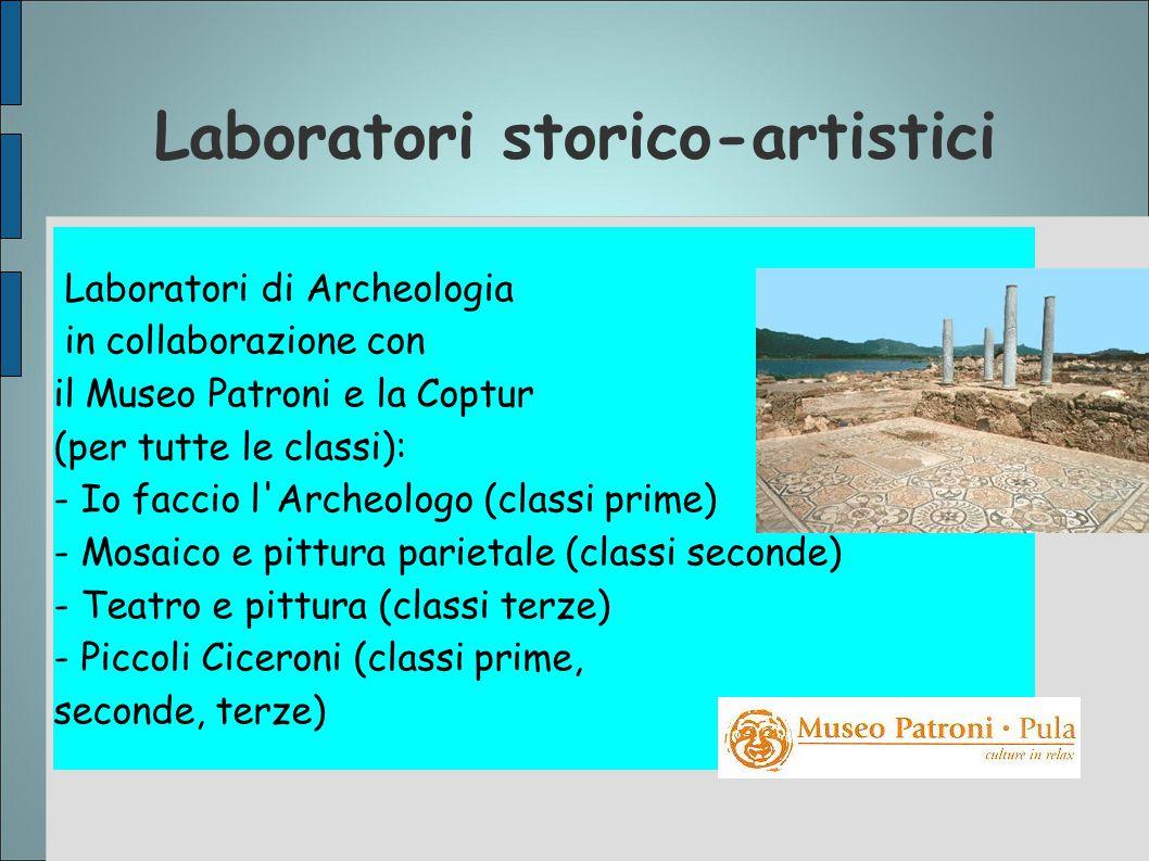 Laboratori storico-artistici