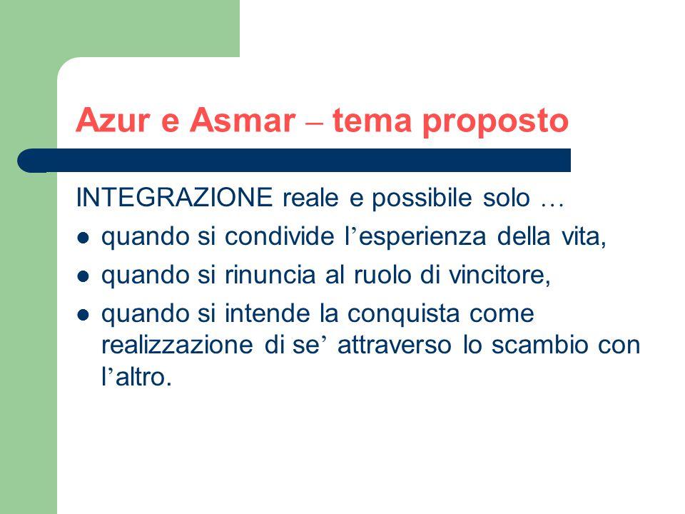 Azur e Asmar – tema proposto