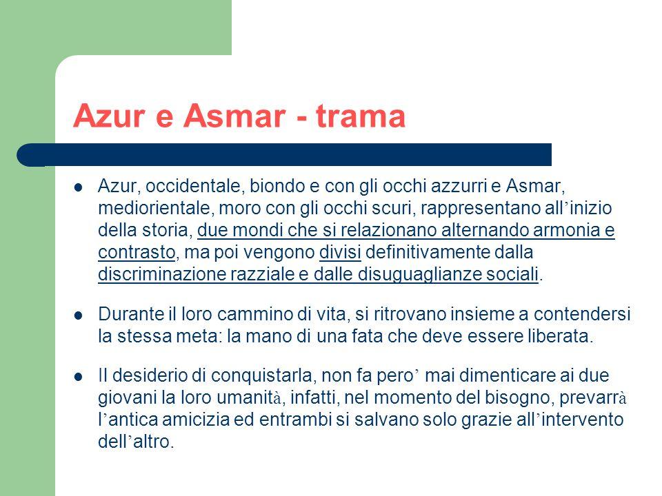 Azur e Asmar - trama