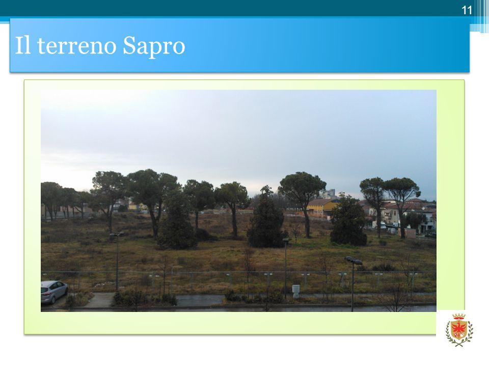 Il terreno Sapro