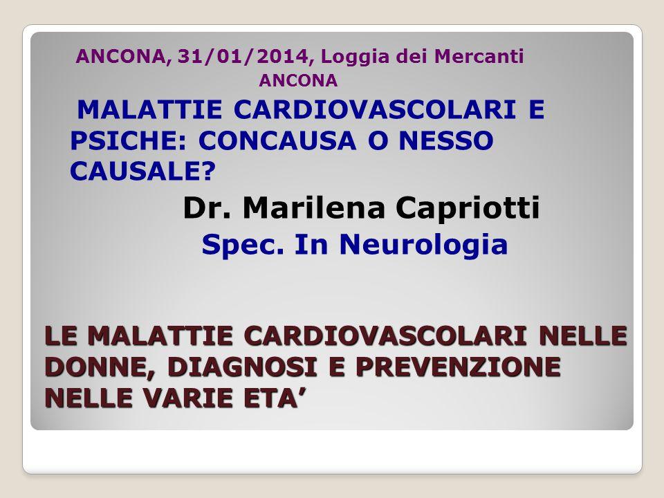 Dr. Marilena Capriotti Spec. In Neurologia