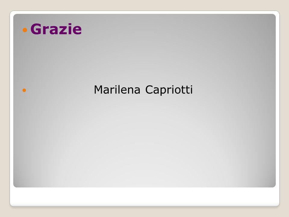 Grazie Marilena Capriotti