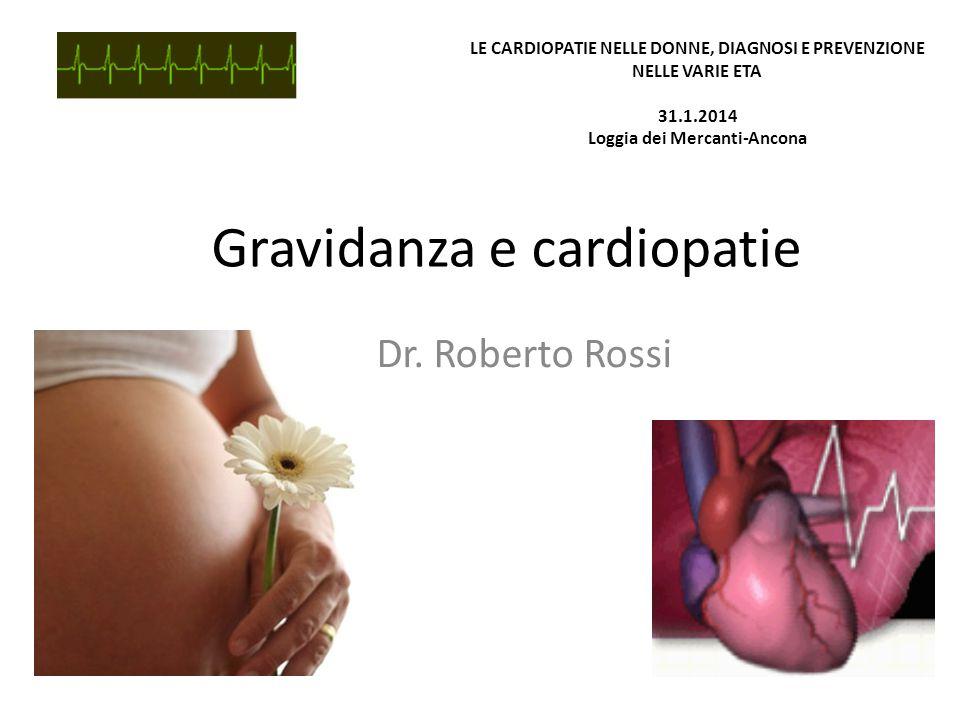 Gravidanza e cardiopatie