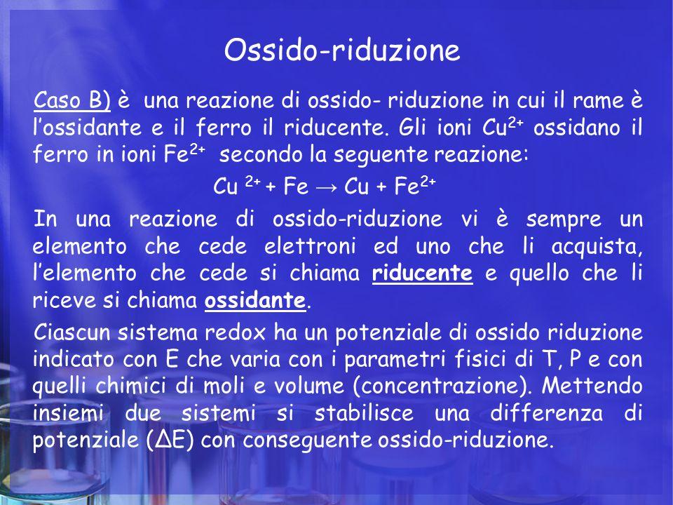 Ossido-riduzione