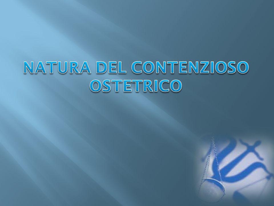 NATURA DEL CONTENZIOSO OSTETRICO