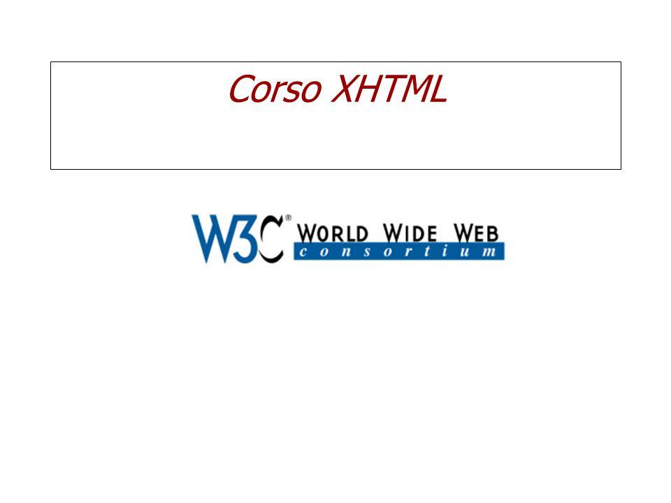 Corso XHTML