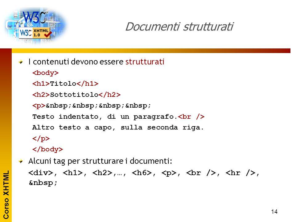 Documenti strutturati
