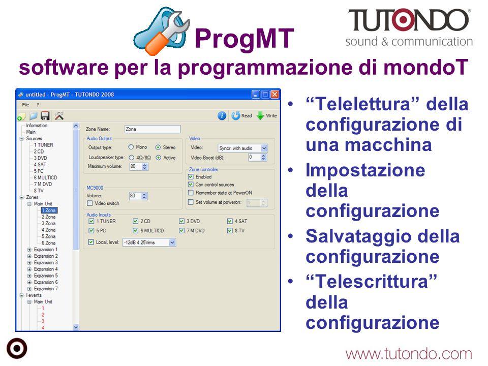 ProgMT software per la programmazione di mondoT