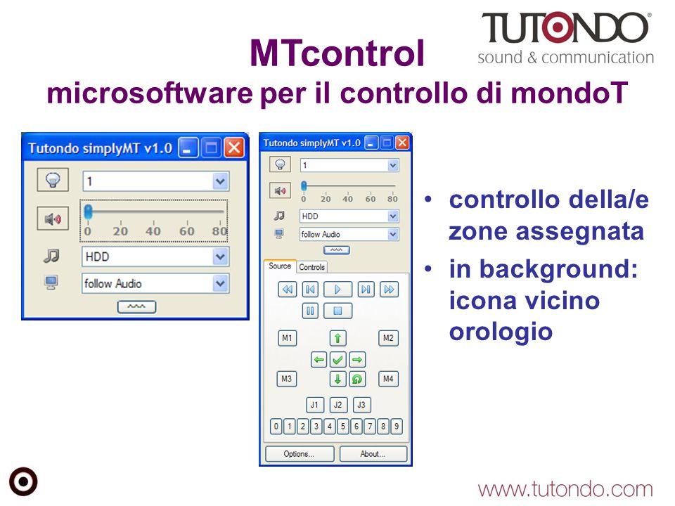 MTcontrol microsoftware per il controllo di mondoT