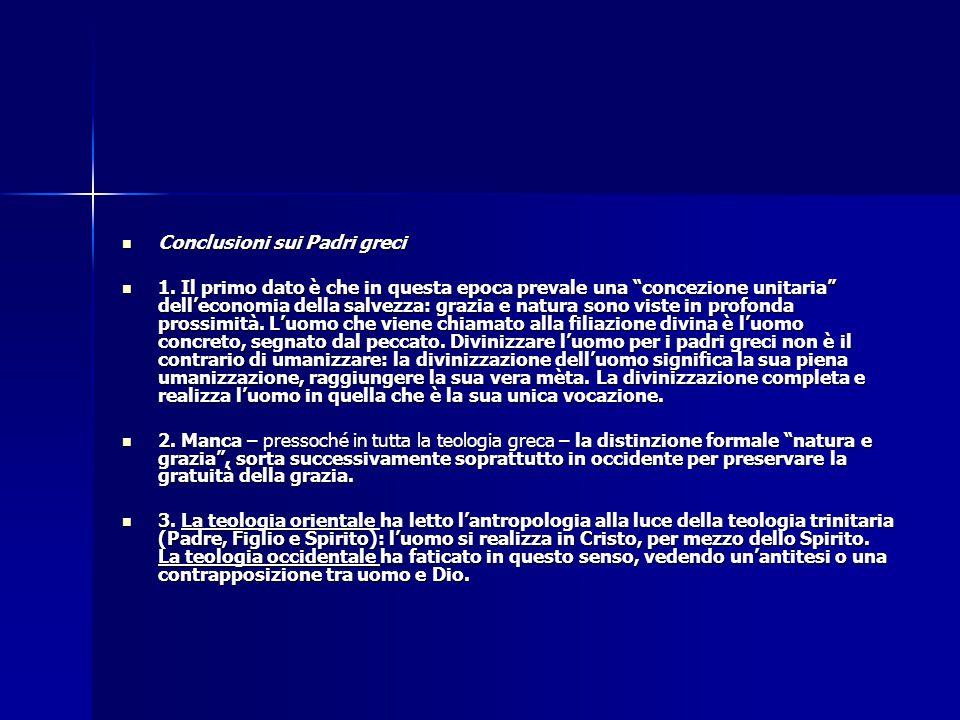 Conclusioni sui Padri greci