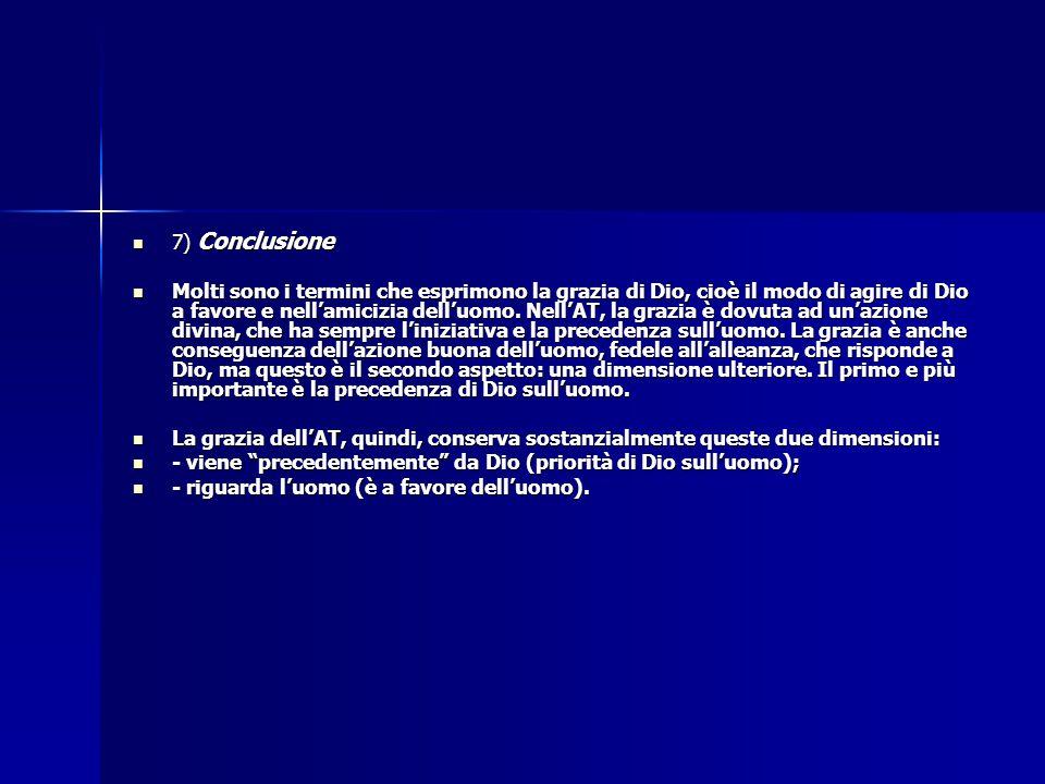 7) Conclusione