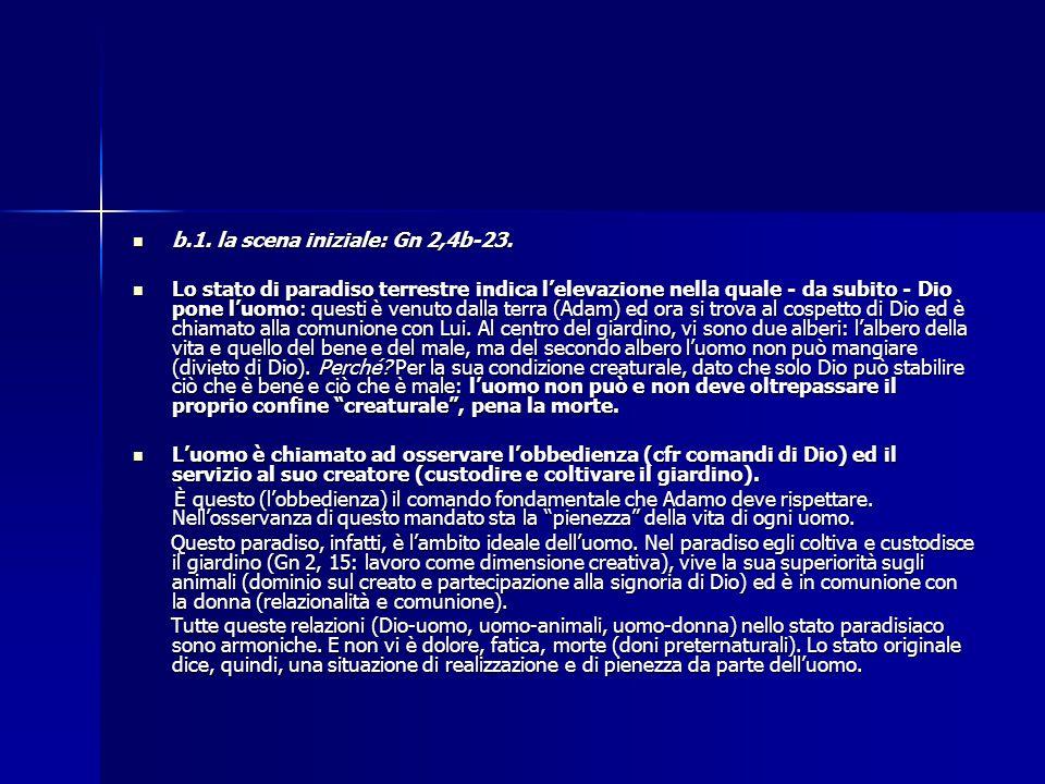 b.1. la scena iniziale: Gn 2,4b-23.