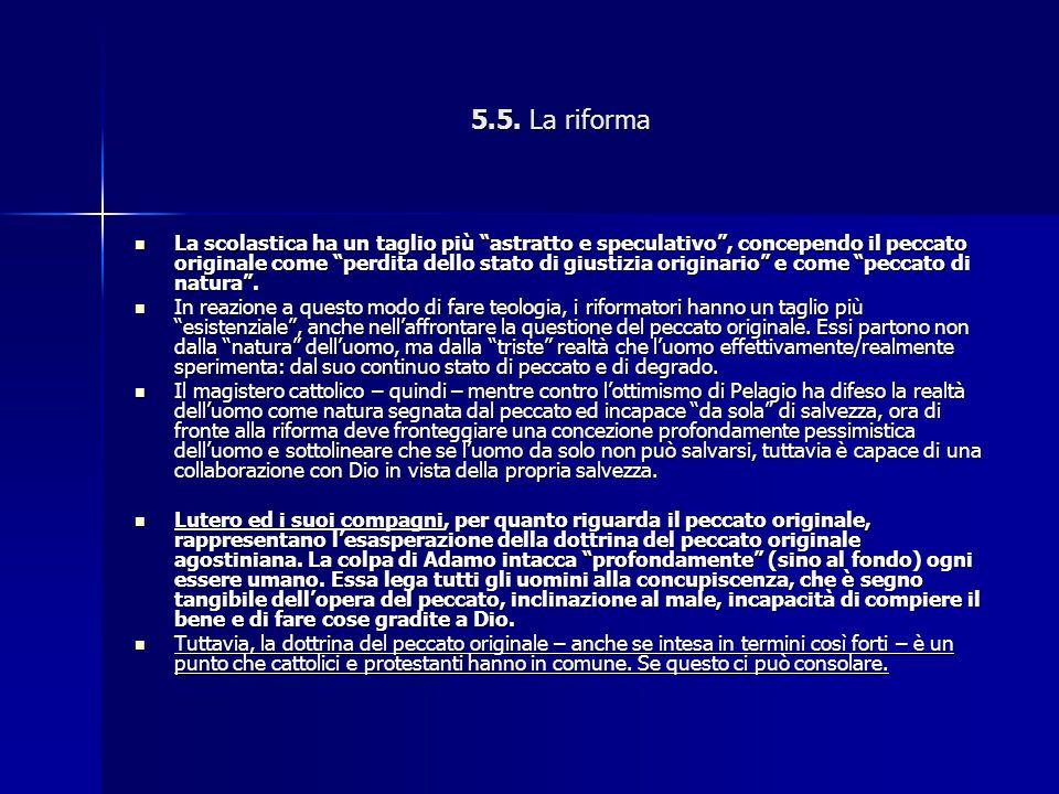 5.5. La riforma