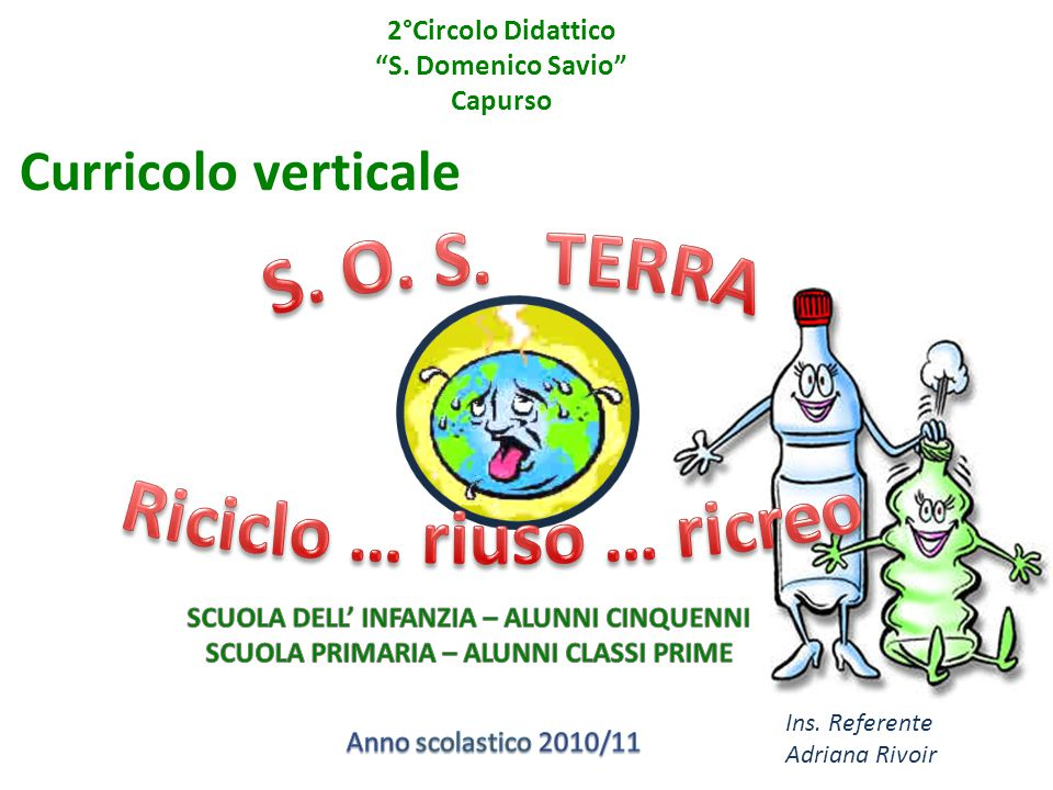 2°Circolo Didattico S. Domenico Savio Capurso
