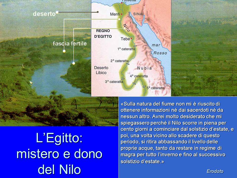 L'Egitto: mistero e dono del Nilo