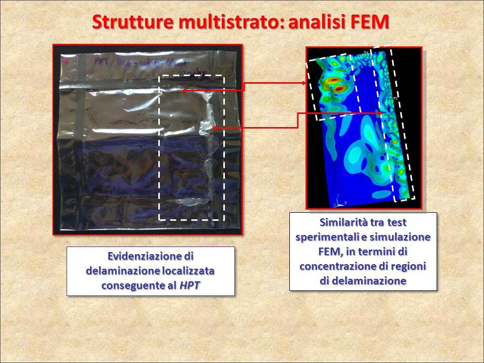 Strutture multistrato: analisi FEM