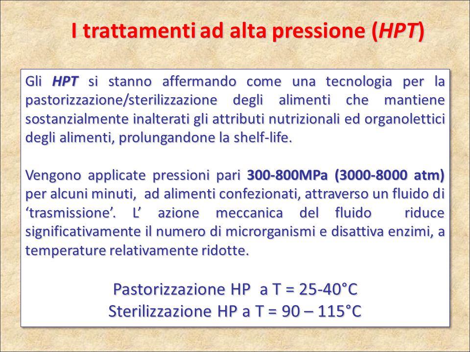 I trattamenti ad alta pressione (HPT)