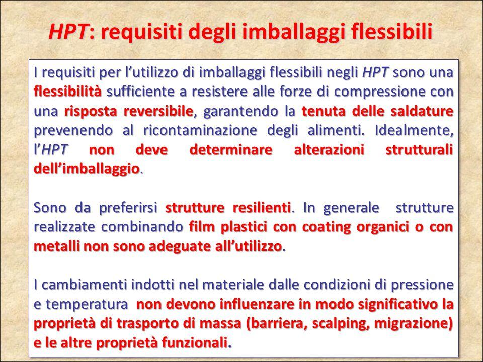 HPT: requisiti degli imballaggi flessibili