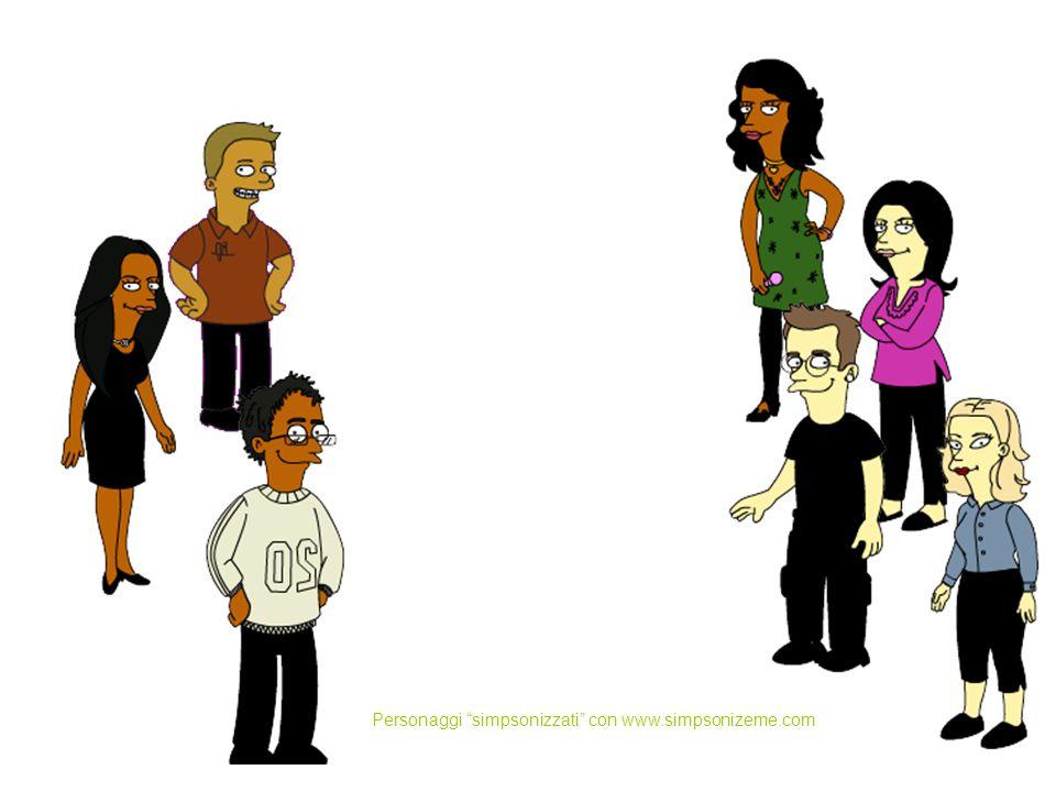 Personaggi simpsonizzati con www.simpsonizeme.com