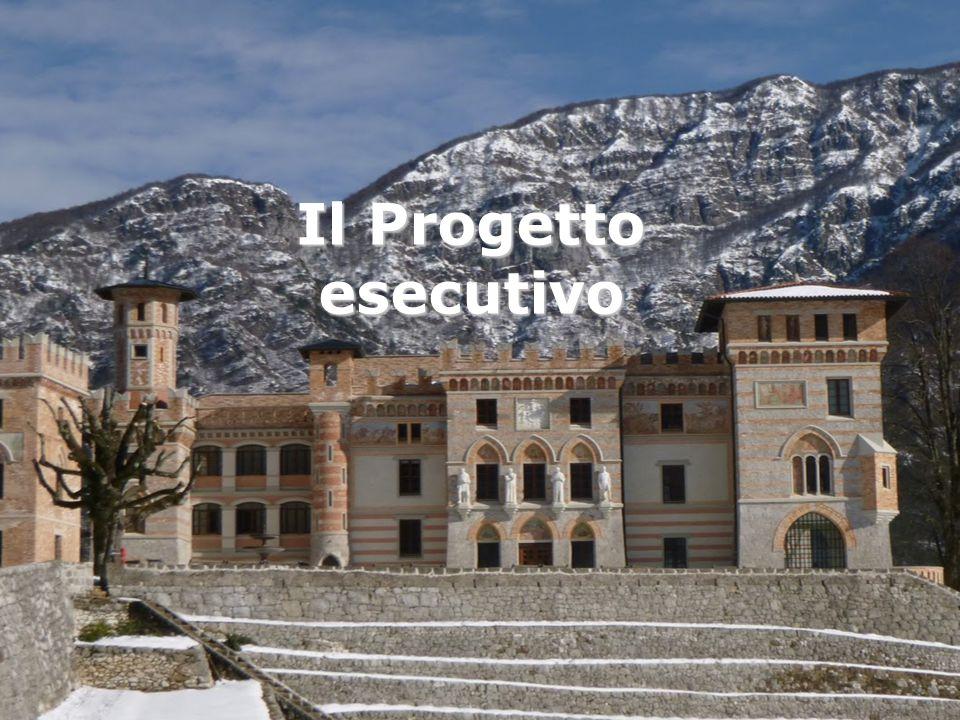 Il Progetto esecutivo 13 Il nostro progetto Prevede 4 step