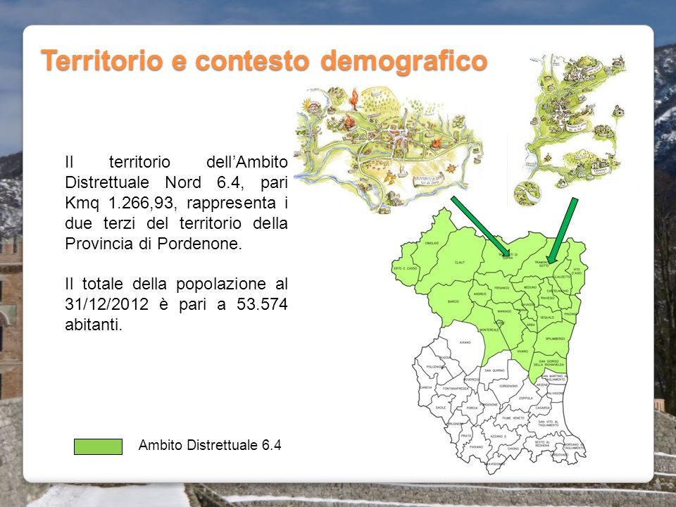 Territorio e contesto demografico