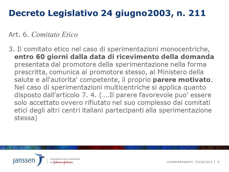 Decreto Legislativo 24 giugno2003, n. 211