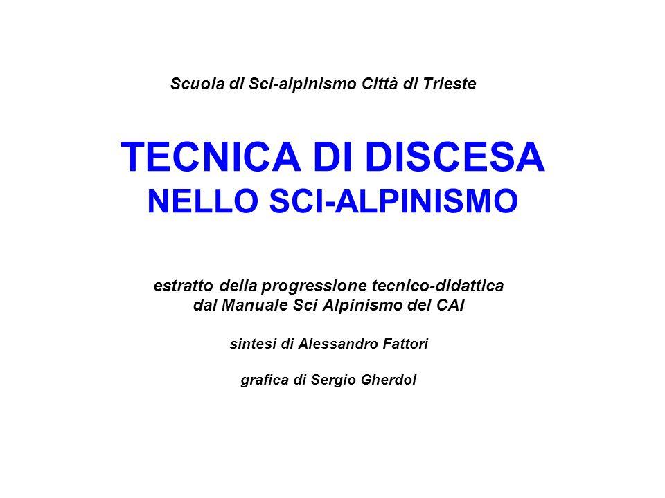 TECNICA DI DISCESA NELLO SCI-ALPINISMO