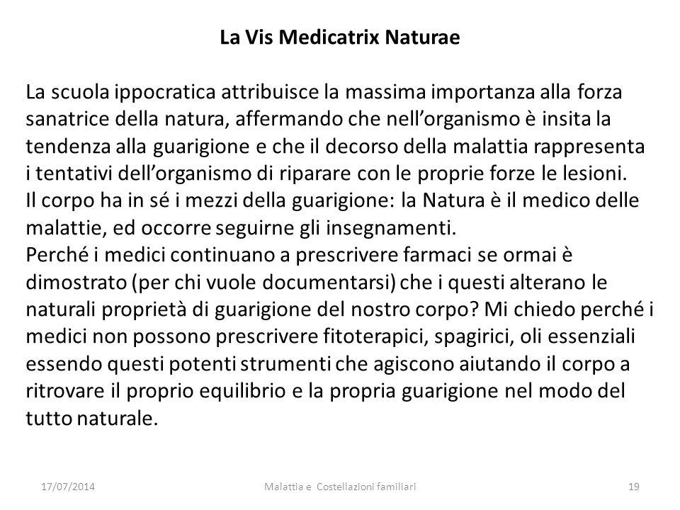 La Vis Medicatrix Naturae
