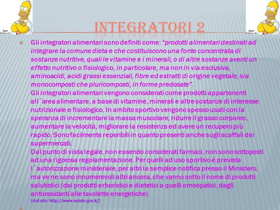 Integratori 2