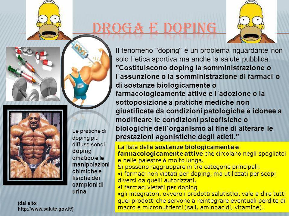 Droga e doping